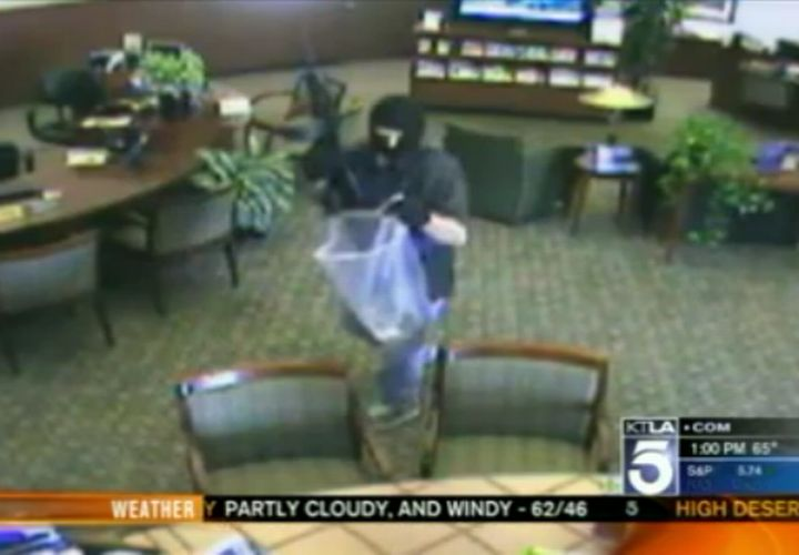 Manhunt Underway for Bank Robber who Shot Calif. Cop with AK-47