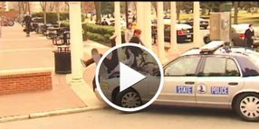 Video: Teen Accidentally Hit By Patrol Car