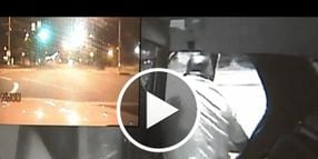 Video: Suspect Jumps From Moving Cruiser