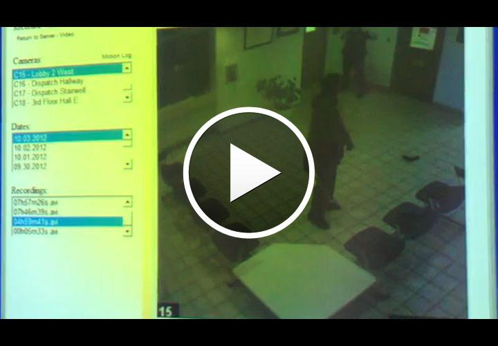 Video: Fla. Man Swings Machete In Police HQ, Gets TASERed