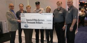 Glock Donates $50,000 To Police Survivors at IACP