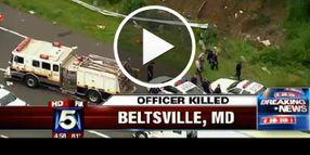Video: Md. Cop Killed In Crash