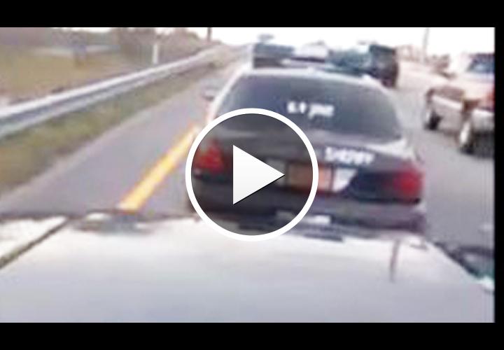 Video: N.C. Cop Resigns In Road Rage Incident