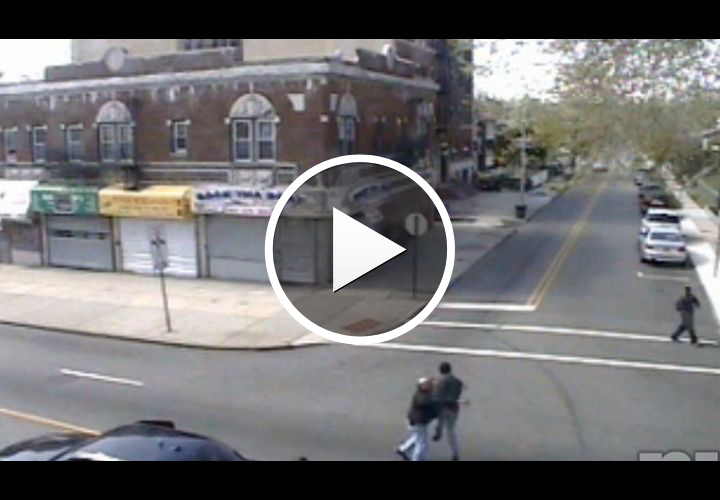 Video: N.J. Cops Tackle Robbery Suspect