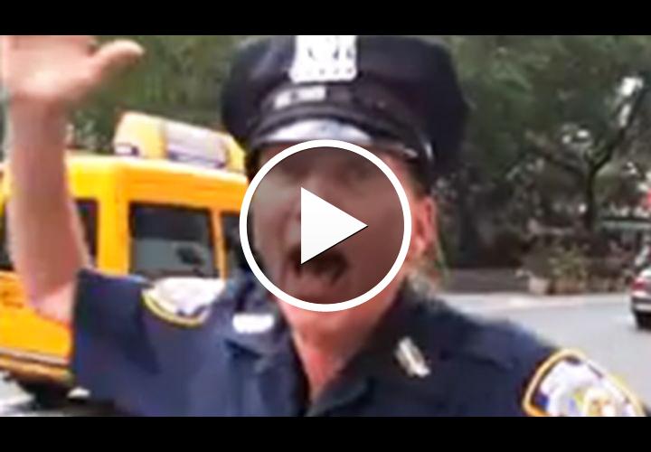 Video: NYPD Cop Tells Vendor to 'Blow Me'
