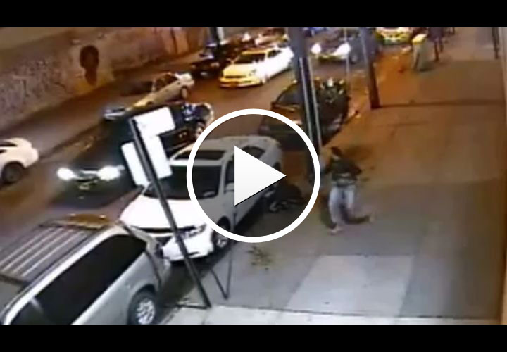 Video: Wounded Off-Duty NYPD Cop Stops Robber