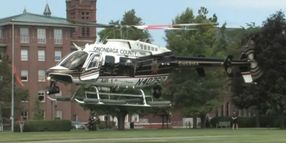 N.Y. Sheriff's Air Unit Could Get Corporate Logo