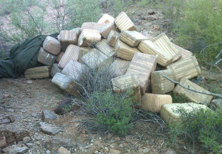 Ariz. Task Force Bust Nets Marijuana, Guns, Illegals