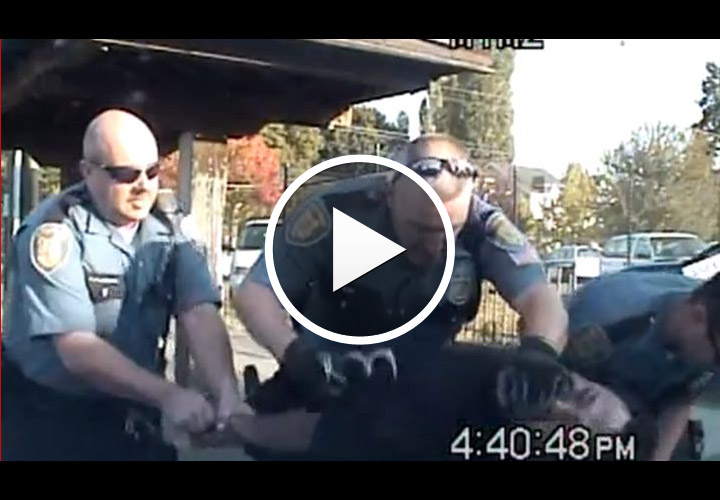 Video: Suspect Claims Seattle Cop Choked Him