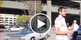 Video: Seattle Cop Patrols In Vintage Cruiser