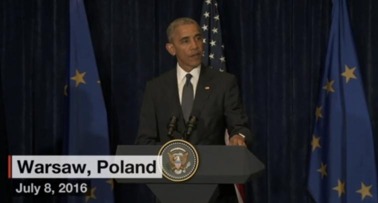 President Obama Releases Statement on Dallas Sniper Attack