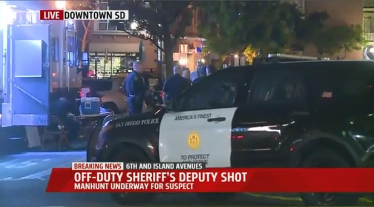 Video: Off-Duty Deputy Shot in San Diego's Gaslamp Quarter