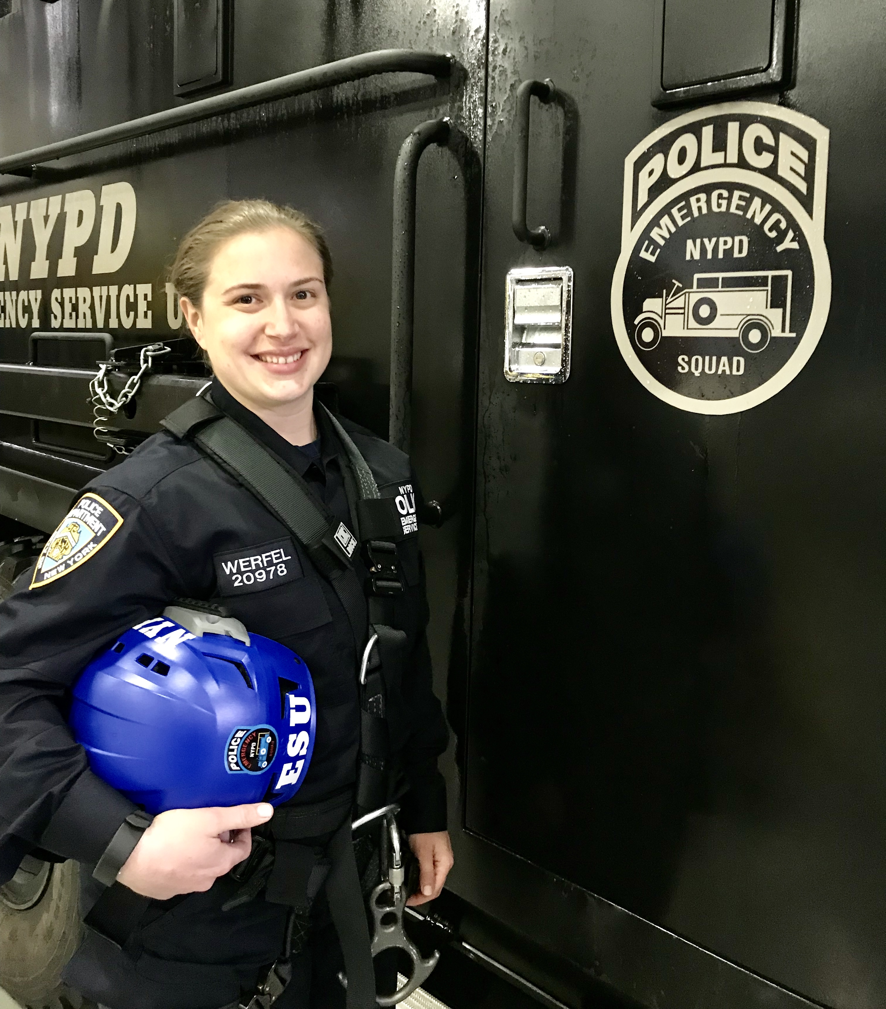 Female Officer Becomes Ninth Woman to Join Elite NYPD Unit