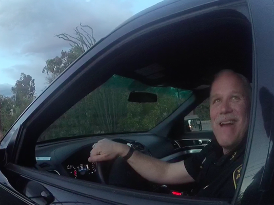 Arizona Officer Pulls Over Chief for Traffic Infraction