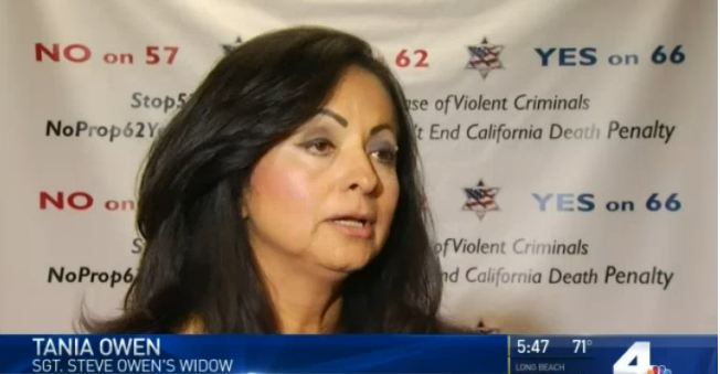 Video: Family Members of Slain CA Officers Oppose Prisoner Release Proposition