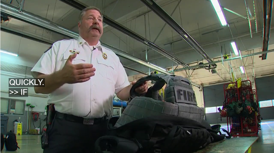 Video: WA Fire Department to Issue Point Blank Armor