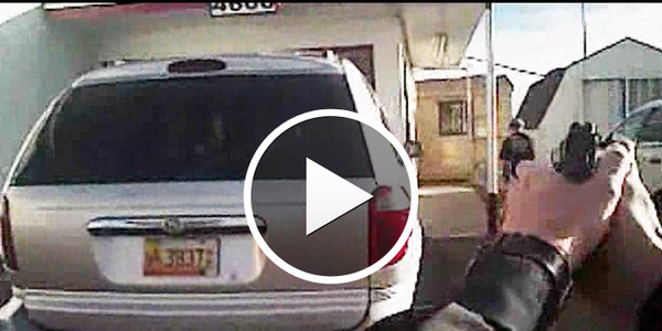 Video: N.M. Officer Shoots Fleeing Robbery Suspect