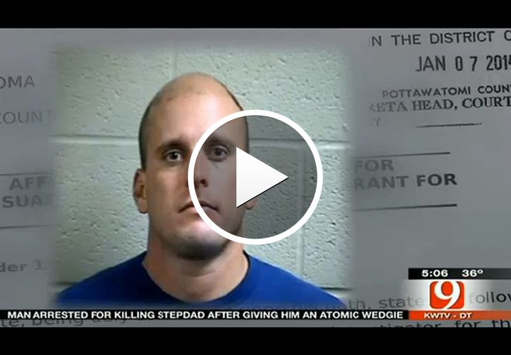 Video: Man Arrested for Killing Stepdad With