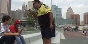 Baltimore Cop Fired In YouTube Skateboarder Flap Wants Job Back