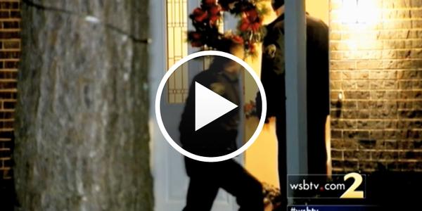 Video: Missing Boy Found Behind False Wall