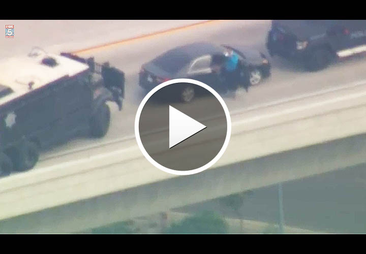 Video: California Amber Alert Ends With Freeway Standoff