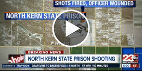 Video: 15 to 20 Shots Fired into California Prison Yard, Corrections Officer Injured