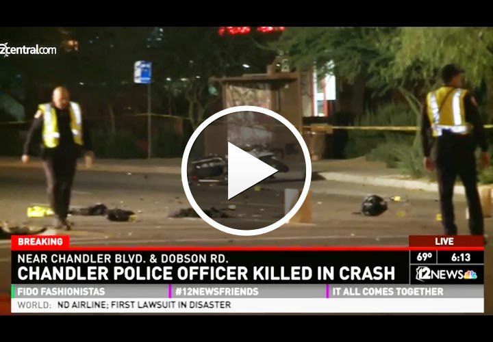 Video: Arizona Motor Officer Killed in Hit-and-Run
