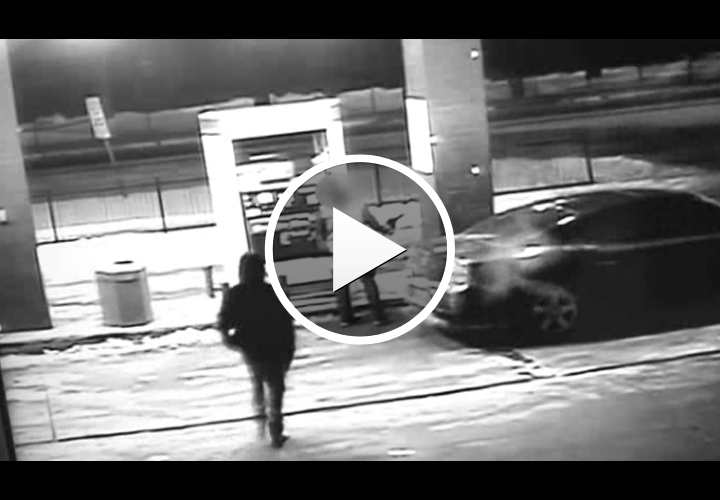 Video: Off-Duty Ill. Sgt. Shoots, Kills Would-Be Robber