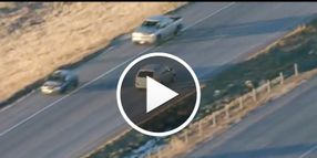 Video: Colo. Trooper Seriously Injured During Wild Carjacker Chase