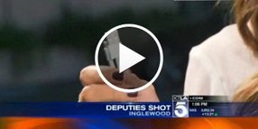 Video: Phone Charger in Calif. Deputy's Pocket Stops Bullet