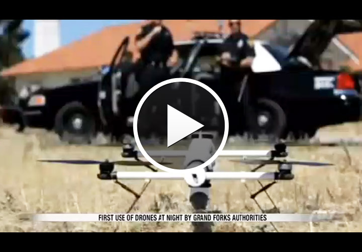Video: Aerial Drone Used to Collar DWI Suspects in North Dakota