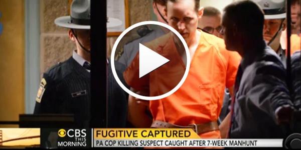Video: Ambush Suspect Frein Restrained with Murdered Pennsylvania Trooper's Cuffs