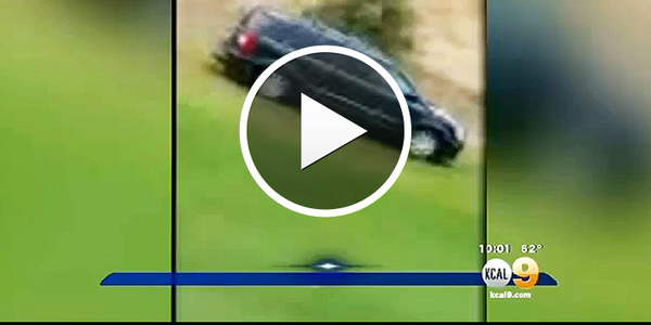 Video: California Vehicle Pursuit Charges Across Golf Course, Suspect Killed