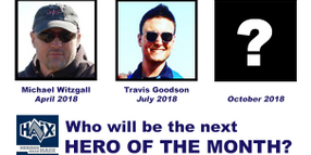 Nominate the October HAIX Hero of the Month