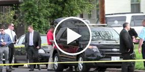 Video: Illinois Officer, Gunman Shot During Search Warrant Service