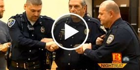 Video: Ind. Chief Takes TASER Hit to Raise Money for Department