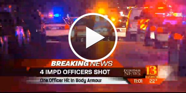 Video: 4 Indy SWAT Officers Shot Serving Warrant, Suspect Killed