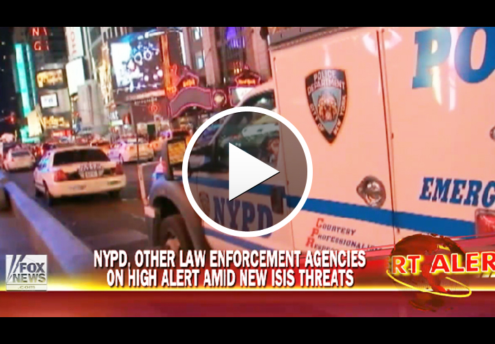 Video: NYPD on Alert After ISIS Re-Issues Officer Attack Video