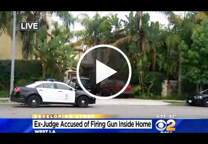 Video: Retired Judge Fires on LAPD Officers He Called to Home