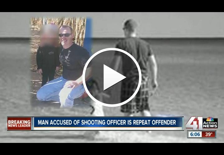 Video: Missouri Officer Stable After Being Shot in Face at Traffic Stop
