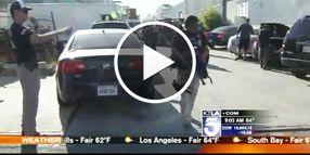 1,000 Agents and Officers Raid L.A. Fashion District, Seize Cartel Millions