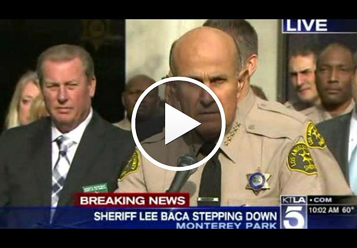 Video: L.A. County Sheriff Lee Baca to Retire at End of Month