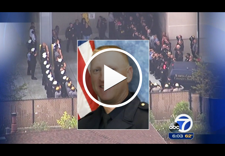 Video: Suspect Arrested in California Sergeant's Shooting Death