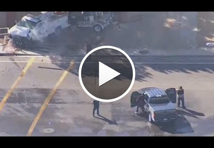 Video: Machete-Wielding Man Killed by Arizona Police After Ramming Patrol Car, Seriously Injuring Officer