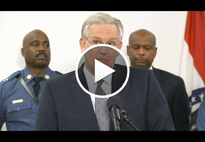 Video: Missouri Governor on Ferguson: 'Violence Will Not Be Tolerated'