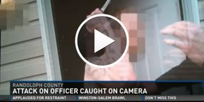 Video: Body Camera Captures Knife Attack on North Carolina Deputy