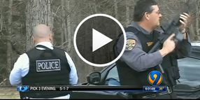 Video: N.C. Man Kills Forest Service Officer, K-9 During Manhunt