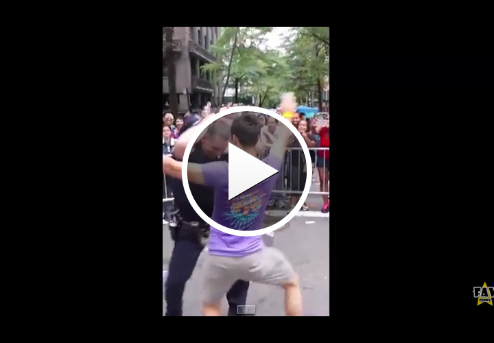 Video: Footage of NYPD Officer Dancing at Gay Pride Parade Goes Viral