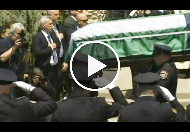 Video: Tens of Thousands Attend Funeral for Slain NYPD Officer