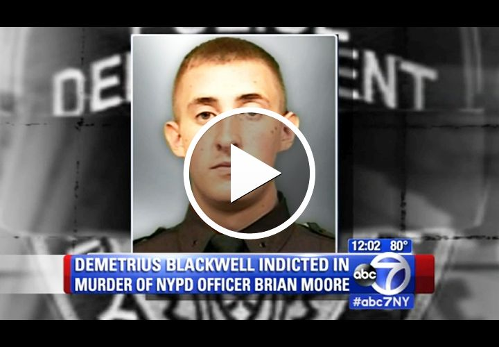 Video: Man Indicted in Shooting of NYPD Officer, May Pursue Insanity Defense